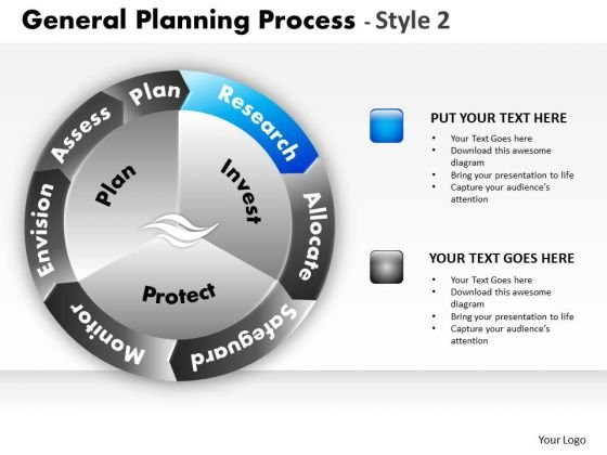 PowerPoint Theme Business Growth General Planning Process Ppt Templates