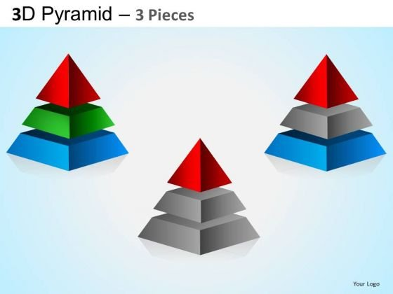 PowerPoint Theme Business Leadership Pyramid Ppt Layout