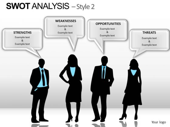 PowerPoint Theme Business Swot Analysis Ppt Templates
