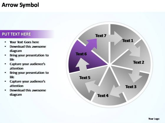 PowerPoint Theme Chart Circle Chart Ppt Presentation
