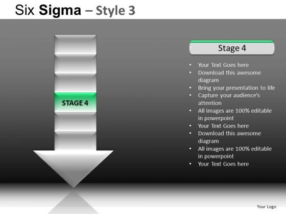 PowerPoint Theme Company Designs Six Sigma Ppt Templates