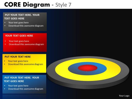 PowerPoint Theme Company Success Core Diagram Ppt Themes