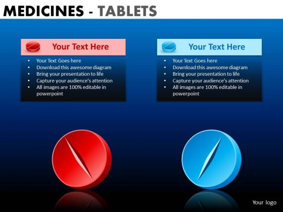 PowerPoint Theme Company Success Medicine Tablets Ppt Presentation Designs