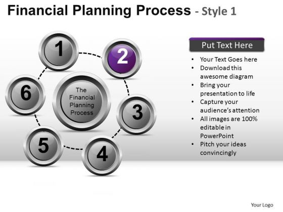 PowerPoint Theme Company Teamwork Financial Planning Process Ppt Slidelayout