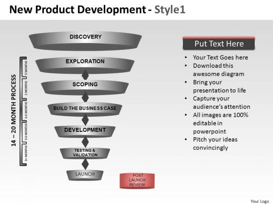 PowerPoint Theme Corporate Leadership New Product Development Ppt Theme