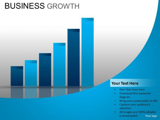 PowerPoint Theme Corporate Success Business Growth Ppt Templates