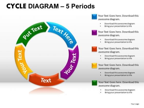 PowerPoint Theme Diagram Cycle Diagram Ppt Templates