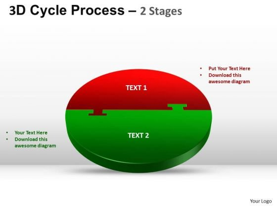 PowerPoint Theme Diagram Cycle Process Ppt Slide