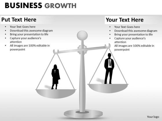 PowerPoint Theme Download Business Growth Ppt Design