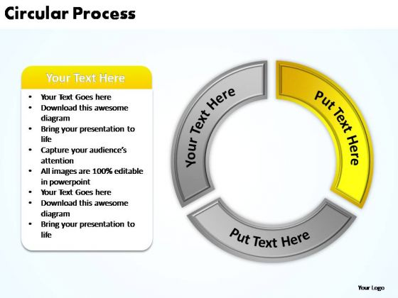 PowerPoint Theme Download Circular Process Ppt Slide Designs
