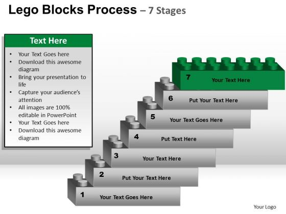 PowerPoint Theme Download Lego Blocks Ppt Presentation
