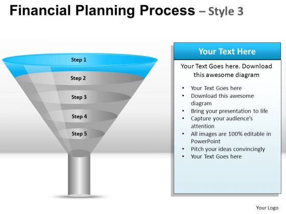 PowerPoint Theme Executive Strategy Financial Planning Process Ppt Process