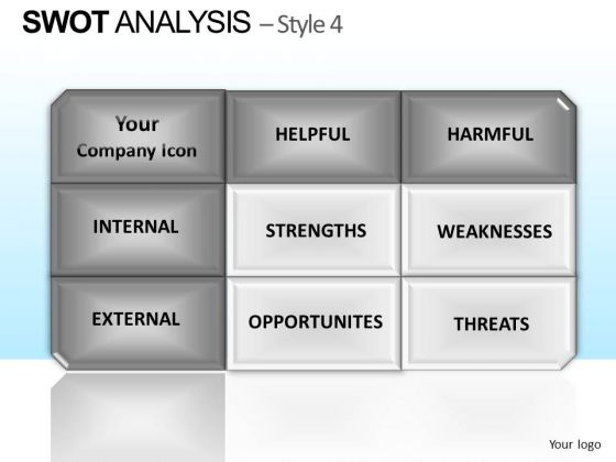 PowerPoint Theme Executive Success Swot Analysis Ppt Themes