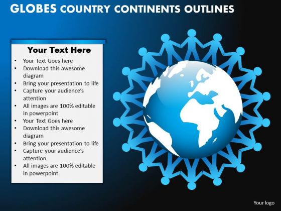 PowerPoint Theme Image Globes Country Ppt Design