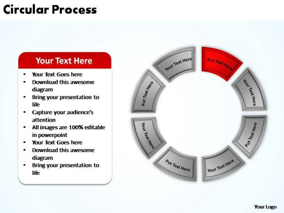 PowerPoint Theme Leadership Circular Process Ppt Layout