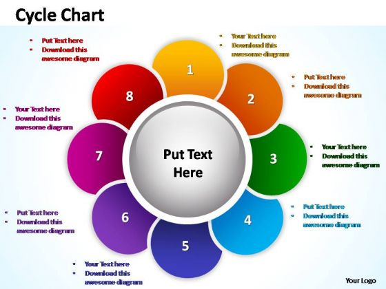 PowerPoint Theme Leadership Cycle Chart Ppt Layout