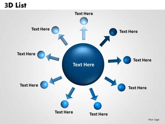 PowerPoint Theme List Success Ppt Slides