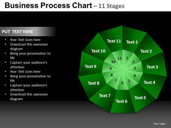 PowerPoint Theme Marketing Pie Chart Ppt Slide