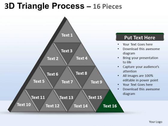 PowerPoint Theme Marketing Triangle Process Ppt Presentation