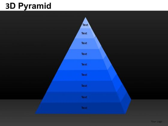PowerPoint Theme Strategy Pyramid Ppt Slidelayout