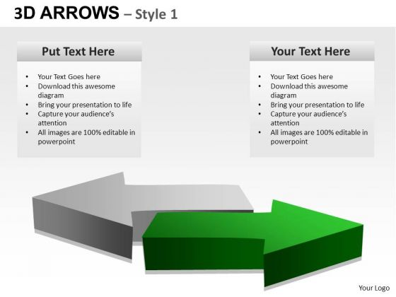 PowerPoint Theme Success Arrows Ppt Designs