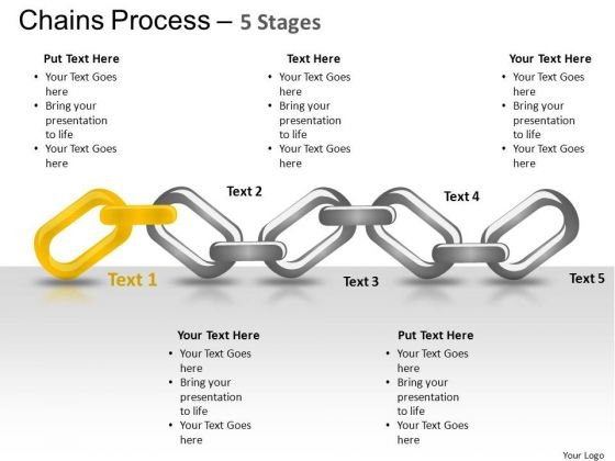 PowerPoint Theme Success Chains Process Ppt Design Slides