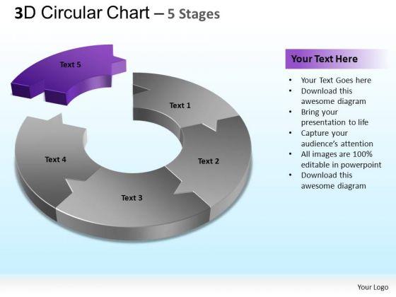 PowerPoint Theme Success Circular Chart Ppt Designs