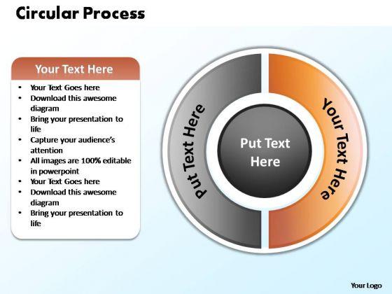 PowerPoint Theme Success Circular Process Ppt Slides