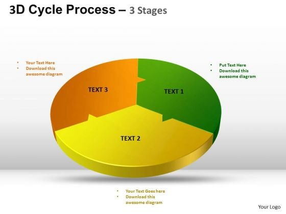PowerPoint Theme Success Cycle Process Flow Ppt Layout