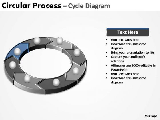 PowerPoint Themes Business Circular Process Ppt Designs