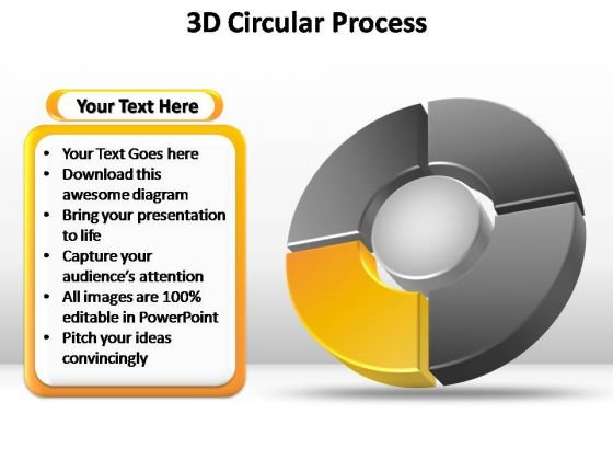 PowerPoint Themes Business Circular Process Ppt Templates