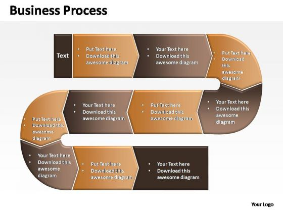 PowerPoint Themes Business Complex Business Process Ppt Slides