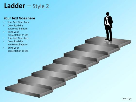 PowerPoint Themes Business Designs Ladder Ppt Layouts