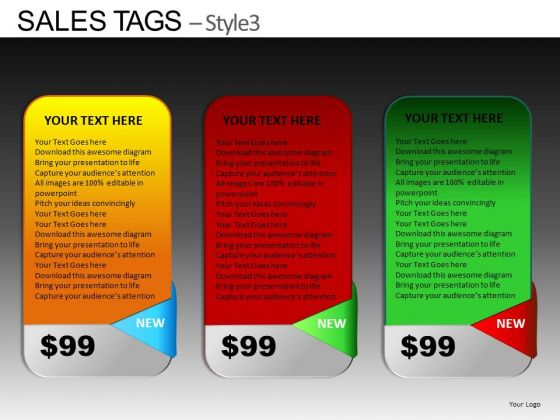 PowerPoint Themes Business Designs Sales Tags Ppt Slide