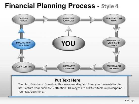 PowerPoint Themes Business Leadership Financial Planning Process Ppt Presentation