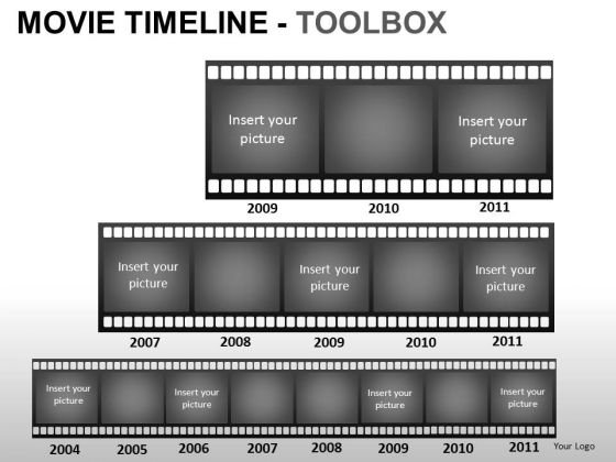 PowerPoint Themes Business Movie Timeline Ppt Presentation