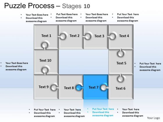 PowerPoint Themes Business Puzzle Process Ppt Design