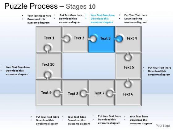 PowerPoint Themes Business Puzzle Process Ppt Design Slides
