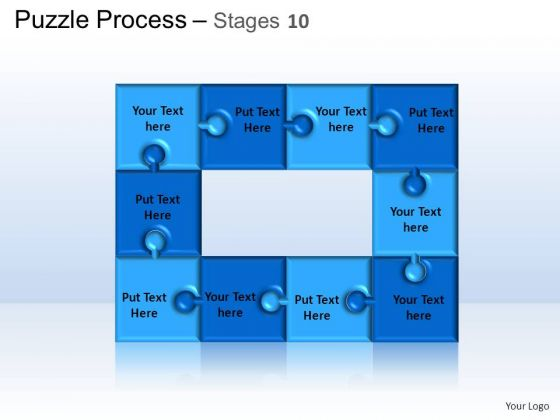 PowerPoint Themes Business Puzzle Process Ppt Presentation