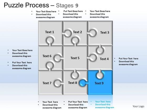PowerPoint Themes Business Puzzle Process Ppt Slide Designs