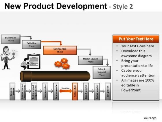 PowerPoint Themes Business Strategy New Product Development Ppt Themes