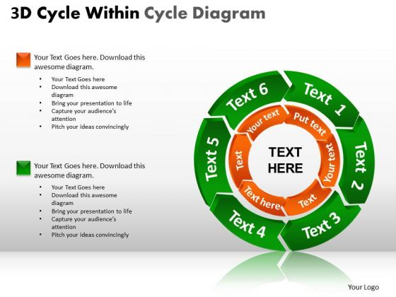 PowerPoint Themes Chart Circular Ppt Layouts