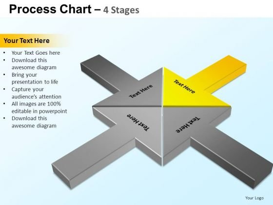 PowerPoint Themes Chart Process Chart Ppt Slide