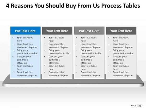 PowerPoint Themes Chart Process Tables Ppt Templates
