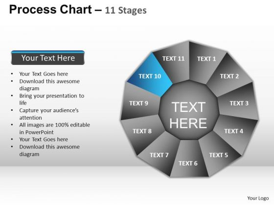 PowerPoint Themes Company Process Chart Ppt Design