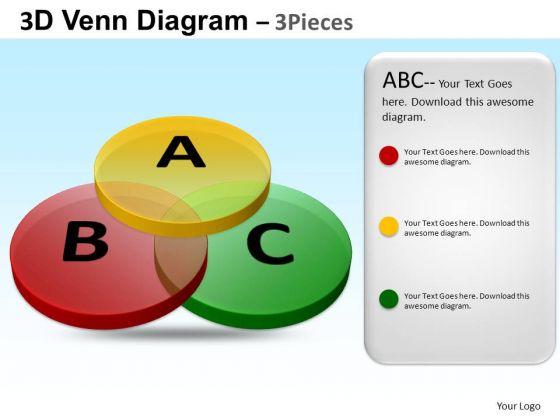PowerPoint Themes Corporate Teamwork Venn Diagram Ppt Process