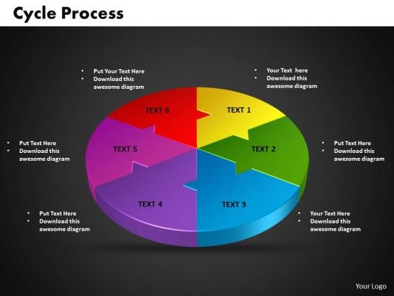 PowerPoint Themes Cycle Business Ppt Template