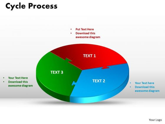 PowerPoint Themes Cycle Process Growth Ppt Design