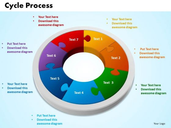 PowerPoint Themes Cycle Process Leadership Ppt Theme