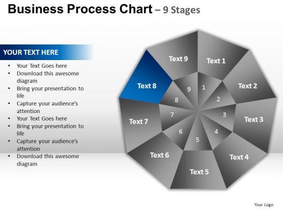 PowerPoint Themes Editable Circular Quadrant Ppt Slide